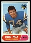1968 Topps #89   Ron Mix Front Thumbnail
