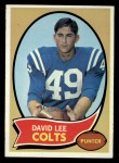 1970 Topps #222   David Lee Front Thumbnail