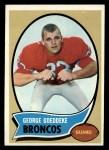 1970 Topps #257   George Goeddeke Front Thumbnail