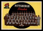 1959 Topps #528  Pirates Team Checklist  Front Thumbnail