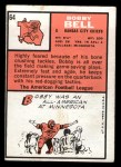 1966 Topps #64  Bobby Bell  Back Thumbnail