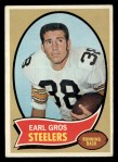 1970 Topps #184  Earl Gros  Front Thumbnail
