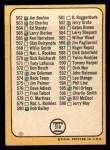 1968 Topps #518 AMER  -  Clete Boyer Checklist 7 Back Thumbnail