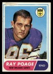 1968 Topps #30  Ray Poage  Front Thumbnail