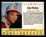 1963 Jello #134   Bob Purkey Front Thumbnail
