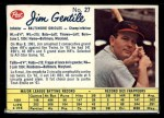 1962 Post Canadian #27 B  Jim Gentile Front Thumbnail
