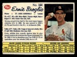1962 Post Canadian #164   Ernie Broglio Front Thumbnail