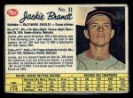 1962 Post Canadian #31   Jackie Brandt Front Thumbnail