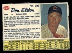 1962 Post Canadian #190   Don Elston Front Thumbnail