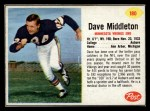 1962 Post #180  Dave Middleton  Front Thumbnail