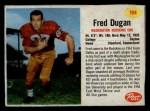 1962 Post #194  Fred Dugan  Front Thumbnail