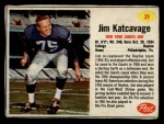 1962 Post #21  Jim Katcavage  Front Thumbnail