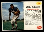 1962 Post #113  Willie Galimore  Front Thumbnail
