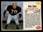 1962 Post #63   Bob Gain Front Thumbnail
