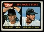 1965 Topps #477   Cardinals Rookie Stars  -  Steve Carlton / Fritz Ackley Front Thumbnail