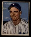 1950 Bowman #218   Cliff Mapes Front Thumbnail