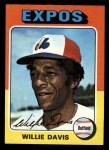 1975 Topps Mini #10  Willie Davis  Front Thumbnail