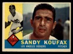1960 Topps #343  Sandy Koufax  Front Thumbnail