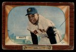 1955 Bowman #184   Willie Mays Front Thumbnail