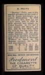 1911 T205 #155   Barney Pelty Back Thumbnail