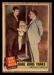 1962 Topps #136 GRN Babe Joins Yanks  -  Babe Ruth Front Thumbnail