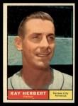 1961 Topps #498   Ray Herbert Front Thumbnail