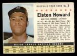 1961 Post Cereal #2 COM  Elston Howard  Front Thumbnail