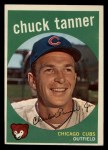 1959 Topps #234  Chuck Tanner  Front Thumbnail