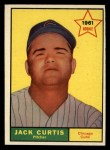 1961 Topps #533   Jack Curtis Front Thumbnail