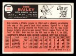 1966 Topps #485   Bob Bailey Back Thumbnail