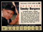 1961 Post Cereal #138 BOX  Smoky Burgess Front Thumbnail