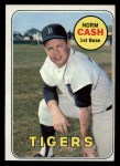 1969 Topps #80  Norm Cash  Front Thumbnail