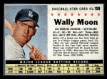 1961 Post Cereal #159 BOX  Wally Moon  Front Thumbnail
