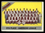 1966 Topps #303 ^COR^  Indians Team Front Thumbnail