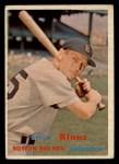1957 Topps #292   Billy Klaus Front Thumbnail