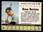 1961 Post Cereal #95 BOX  Reno Bertoia  Front Thumbnail
