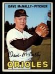 1967 Topps #382  Dave McNally  Front Thumbnail