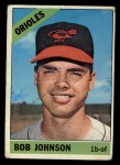1966 Topps #148  Bob Johnson  Front Thumbnail