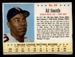 1963 Post Cereal #38  Al Smith  Front Thumbnail