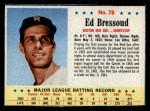 1963 Post Cereal #78  Ed Bressoud  Front Thumbnail