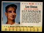 1963 Post Cereal #82   Lou Clinton Front Thumbnail