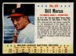 1963 Post Cereal #25   Bill Moran Front Thumbnail