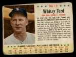 1963 Post Cereal #19   Whitey Ford Front Thumbnail