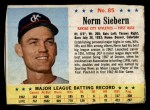1963 Post Cereal #85   Norm Siebern Front Thumbnail
