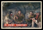 1956 Topps Davy Crockett #49 ORG  In Enemy Territory  Front Thumbnail