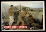 1956 Topps Davy Crockett #72 ORG Every Shot Counts   Front Thumbnail