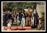 1956 Topps Davy Crockett #5 ORG Bear Meat For Dinner   Front Thumbnail