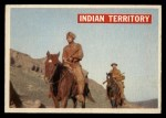 1956 Topps Davy Crockett #25 ORG Indian Territory   Front Thumbnail