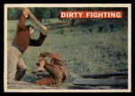 1956 Topps Davy Crockett #37 ORG Dirty Fighting   Front Thumbnail