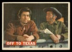 1956 Topps Davy Crockett #46 ORG Off To Texas   Front Thumbnail